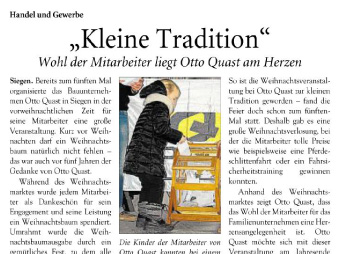 """Kleine Tradition"""